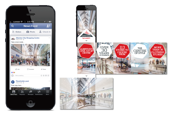 Alberton City Shopping Centre Facebook Ad
