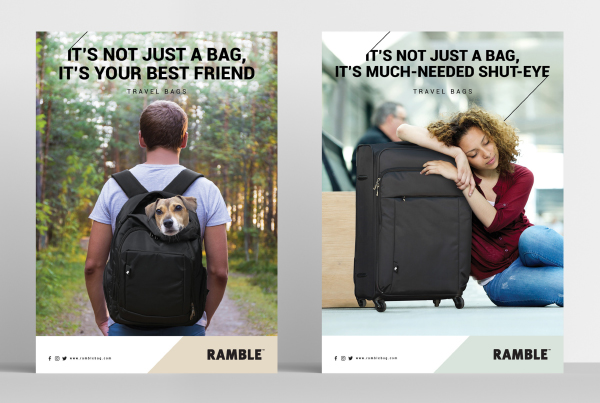 Ramble Bag Posters
